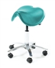 Ergonomic Coccyx Saddle Stool - Lotus Green