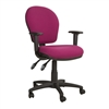 Ascot Medium Back Operator Chair + Adjustable Arms